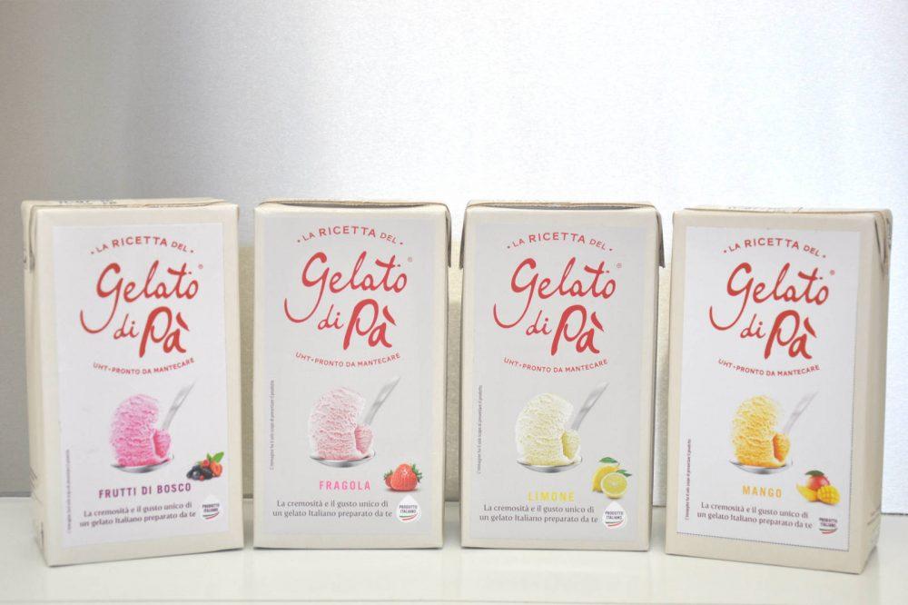 Gusti frutta (senza latte nè panna)